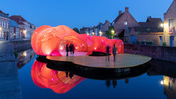 SelgasCano Adds a Splash of Color to the Bruges Triennale with New Installation