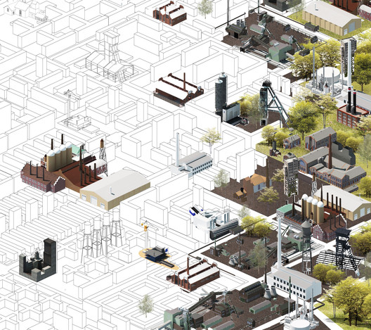 Make the Forest Grow Again - Marta Lata, Dobrochna Lata, Agata Czechowska and Mateusz Pietryga, Poland. Image via Association of Siamese Architects
