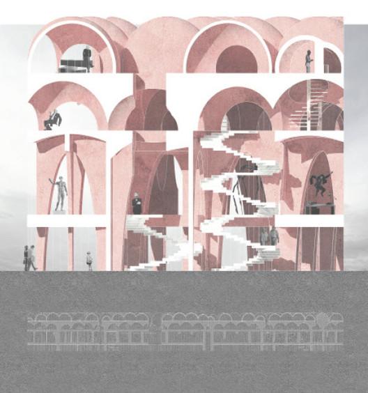 Vernacular Spectacular - Zhifei Xu and Anthony Lam, China. Image via Association of Siamese Architects