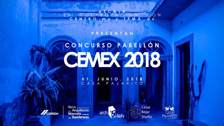 Conoce a los tres primeros lugares del Concurso Pabellón CEMEX 2018