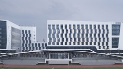 Zhejiang Conservatory of Music Student Apartments / gad + GLA