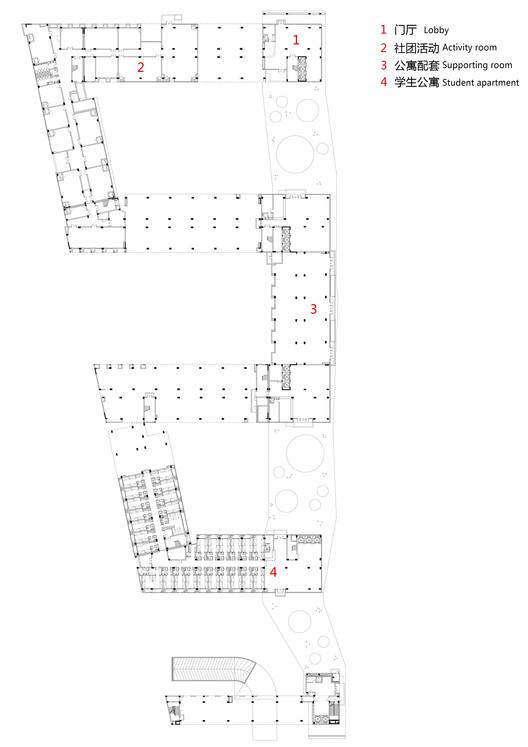 Groung floor plan