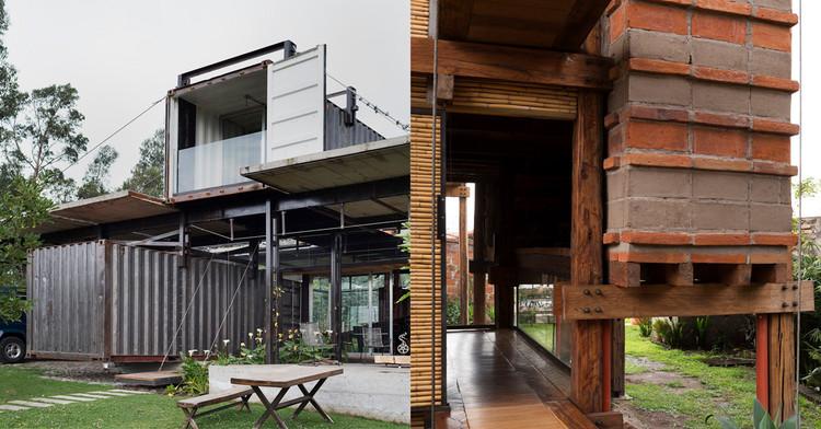 La vivienda unifamiliar como manifiesto experimental del arquitecto moderno, Casa RDP y Casa el Carrizal. Daniel Moreno + Sebastián Calero. Image