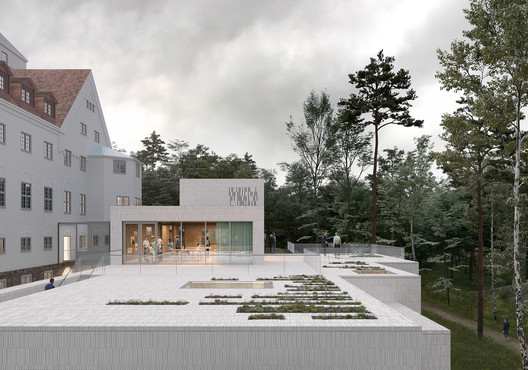 Rooftop Garden. Image Courtesy of Transborder Studio