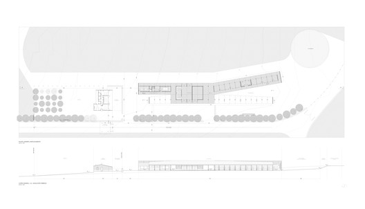 General Plan and Section