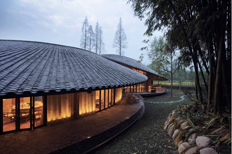 Bamboo Craft Village Archi Union Architects Archdaily