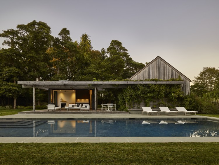 Pool House / Robert Young Architects, © Frank Oudeman