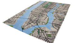 Bring the Big Apple Into Your Home with the 3-D New York City Carpet
