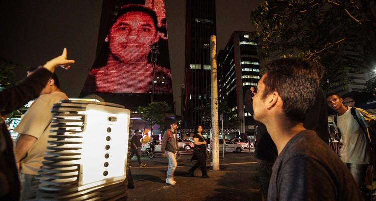 Fachadas interativas: arquitetura como ferramenta de comunicação, © Fernanda Ligabue e Rafael Frasão