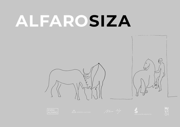 """Exposição """"AlfaroSiza"""" em Valência, Cortesia de Espai Alfaro"""