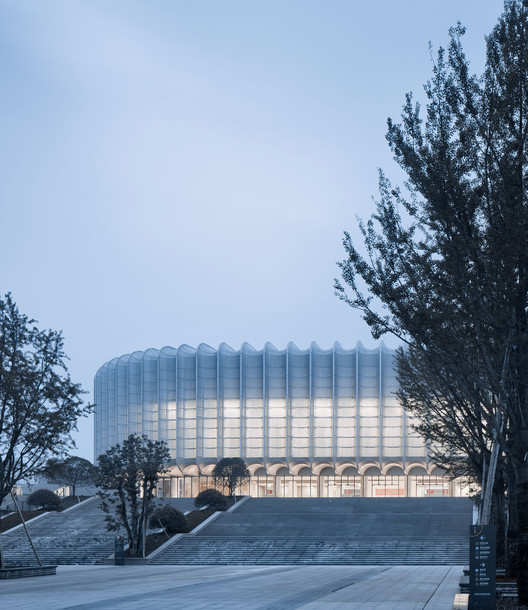 Lin'an Sports and Culture Center / Architectural Design & Research Institute of Zhejiang University