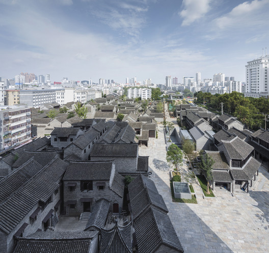 Wall Museum in Historical Block. Image © Wei Qin
