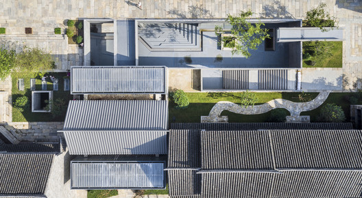 Wall Museum Aerial View. Image © Wei Qin