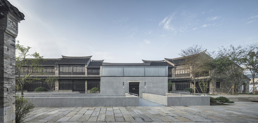 North Entrance. Image © Wei Qin
