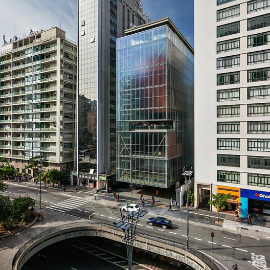 IMS Paulista in São Paulo, Brazil / Andrade Morettin Architects. Image © Nelson Kon