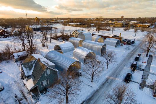 True North in Detroit, Michigan, US / Edwin Chan/EC3. Image © Chris Miele