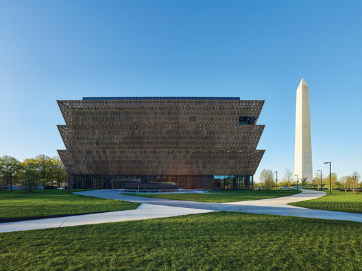 Smithsonian National Museum of African American History and Culture by Adjaye Associates. Image © Alan Karchmer/NMAAHC