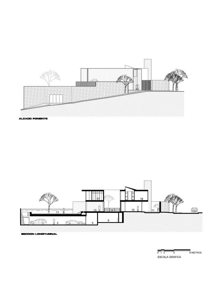 Gallery of san house juan ignacio castiello arquitectos 20 san housesections malvernweather Image collections