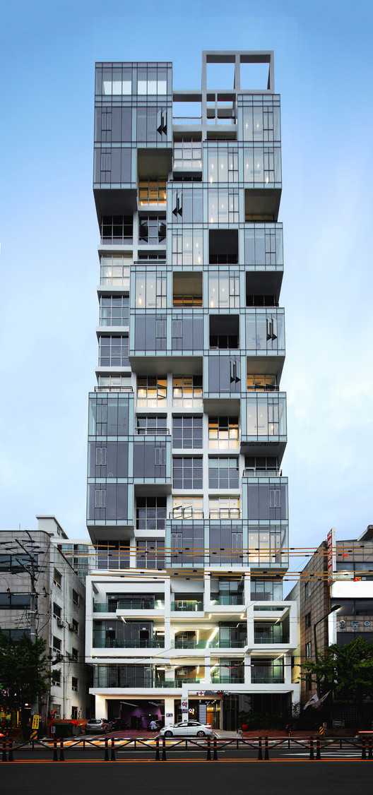 Vertical Ocean / Maaps Architects, © Jongoh Kim