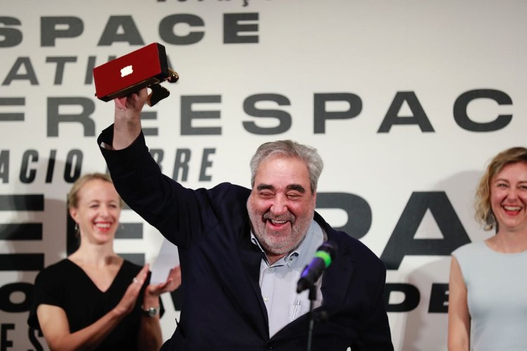 2018 Venice Biennale Winners: Eduardo Souto de Moura, Switzerland, Great Britain, Jan der Vylde, Rahul Mehrotra, Andra Matin, Courtesy of the Venice Biennale