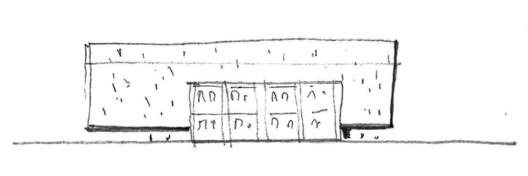Sketch façade