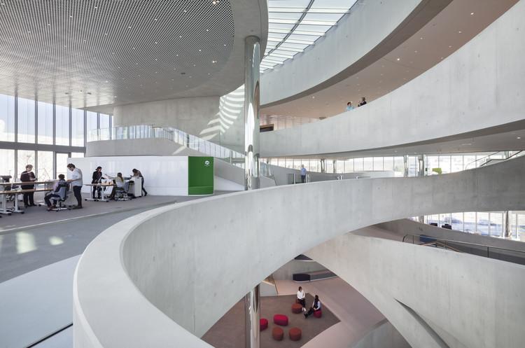 Centro de innovación Merck / Architect HENN, © HG Esch, Hennef