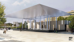 Voids and Canopies Feature in Stefano Boeri Architetti's Renovated Transport Hub in Southern Italy