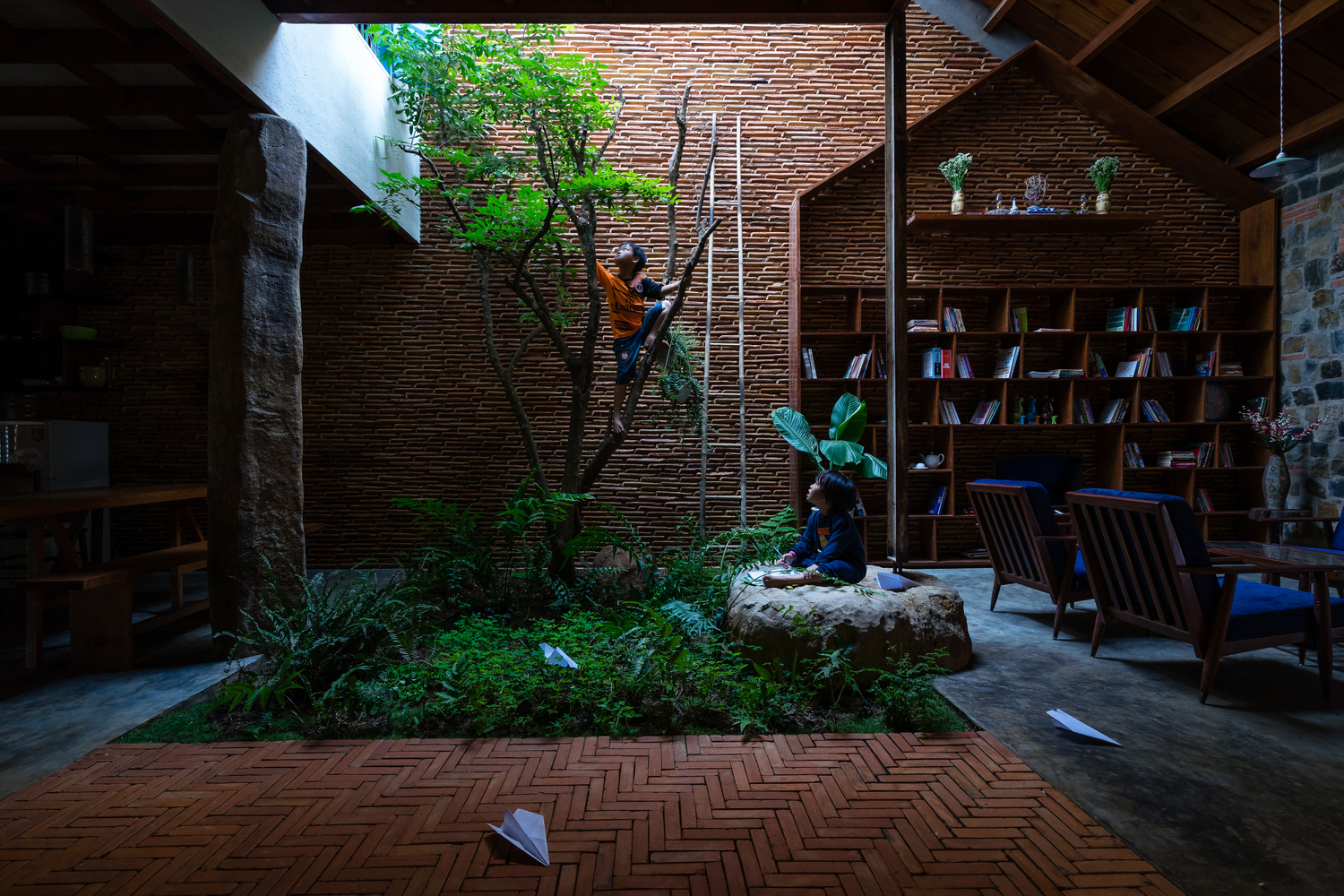 Natural Light and Ventilation: 17 Remarkable Courtyards