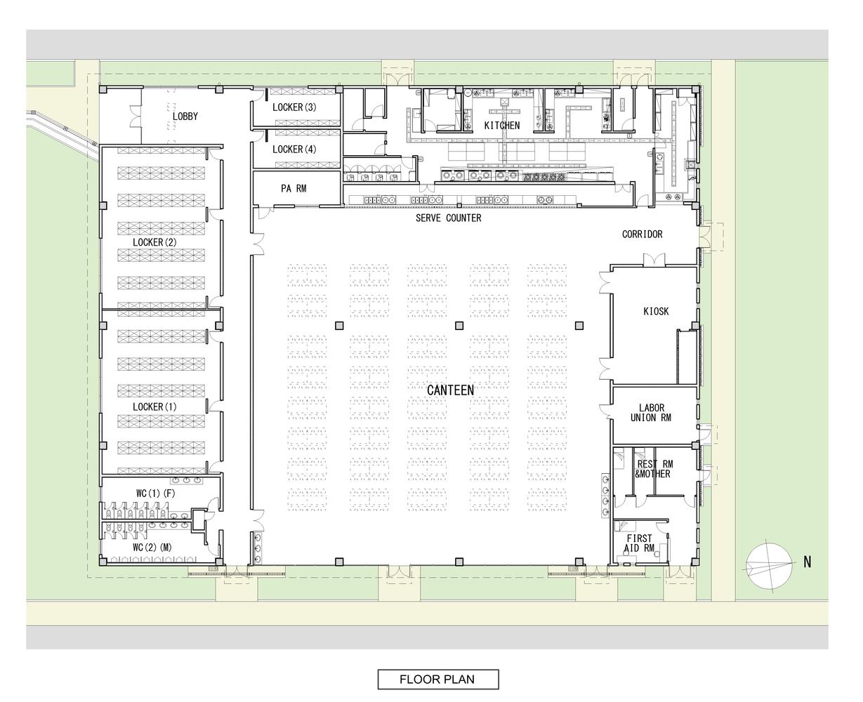 Gallery of Active Passive Hybrid Design Canteen / TAISEI