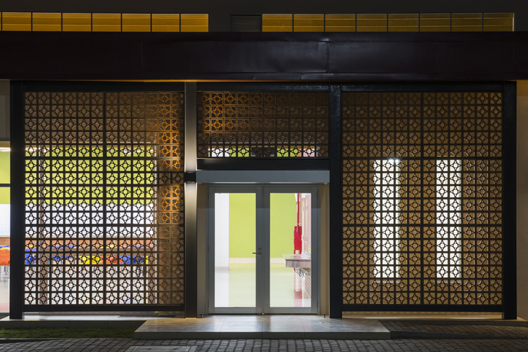 Active Passive Hybrid Design Canteen / TAISEI DESIGN Planners Architects & Engineers, © Hiroyuki Oki