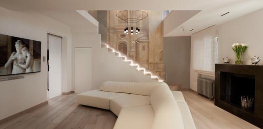 Navona Penthouse / Carola Vannini Architecture