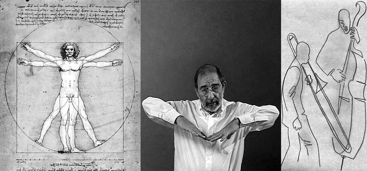 Os homens vitruvianos: diálogos entre Álvaro Siza e o escultor Andreu Alfaro, © António Choupina / A. Alfaro