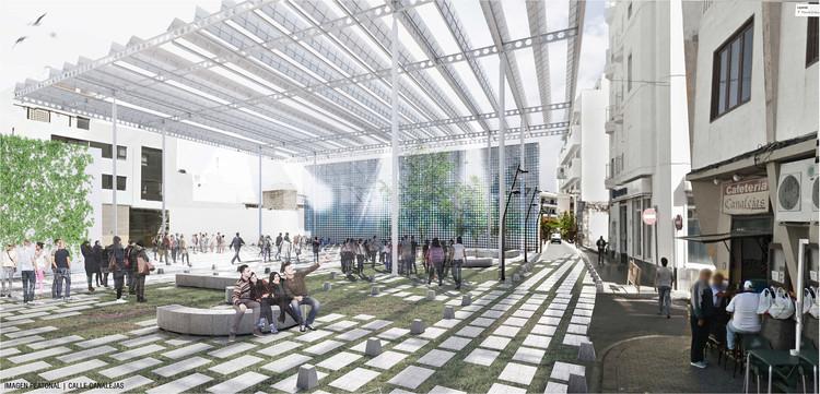 Oficina argentina Paralelo Colectivo, tercer lugar en concurso de diseño de plaza pública en Lanzarote , Cortesía de Paralelo Colectivo