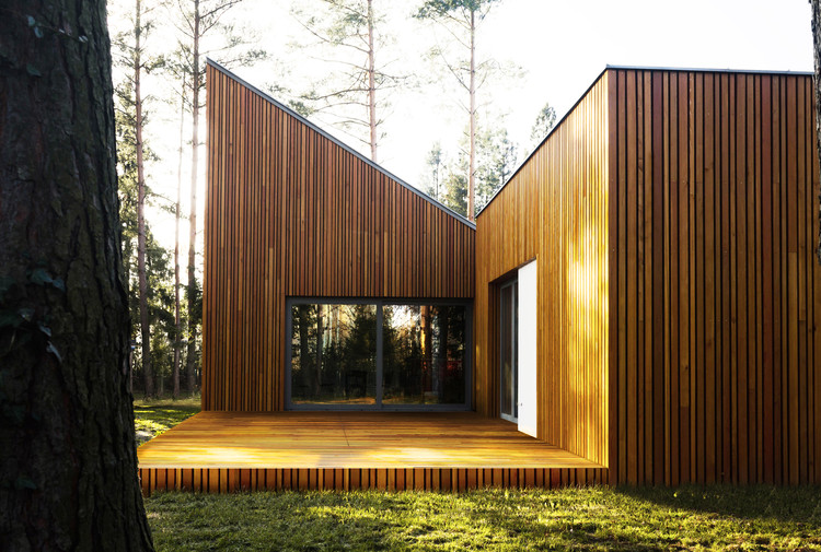 Forest House in Kuźnica Kiedrzyńska / grupaVERSO, © Kacper Ziółkowski