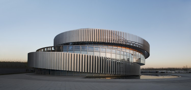 Exhibition Center of Zhengzhou Linkong Biopharmaceutical Park / WSP ARCHITECTS, © RUIJING Photography