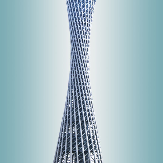 Canton Tower, Information Based Architecture. Image © Kris Provoost