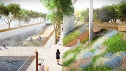 Mecanoo Designs Mile-Long Green Corridor Along Former Railway Line in Taiwan