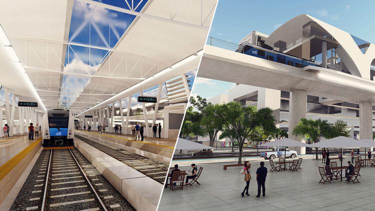 ¿El Metro de Bogotá debería ser elevado o subterráneo?, Primeras imágenes referenciales del futuro Metro de Bogotá. Image © Metro de Bogotá / Difusión