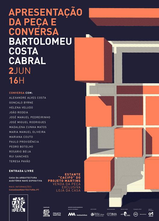 """Apresentação de estante """"Cacifo"""" de Bartolomeu Costa Cabral + Conversa, Evento serve de mote para comemorar os recentes 90 anos do arquiteto"""