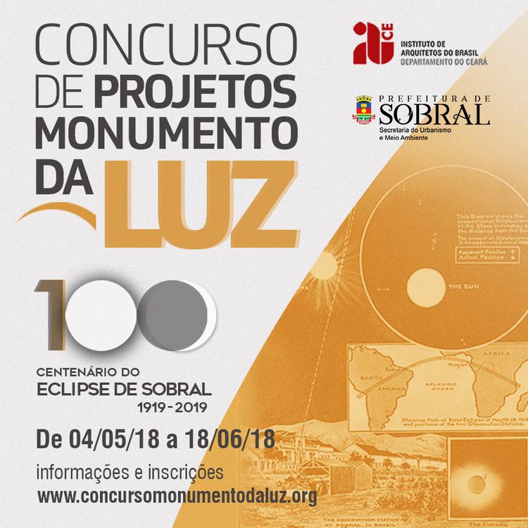 Concurso de Projetos Monumento da Luz , Concurso de projetos Monumento da Luz; Imagem: IAB-CE