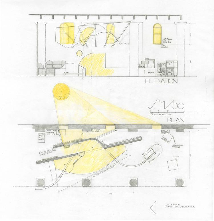 Plan Elevation En Anglais : Experimentar el espacio con otra luz flores prats en la