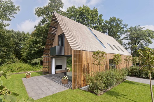 Forest Villa Voorschoten / Architect eigen huis