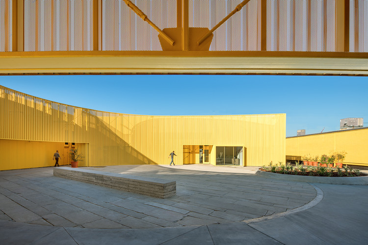 Animo South Los Angeles High School / BROOKS + SCARPA, Courtesy of BROOKS + SCARPA