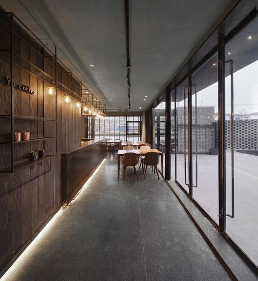 Café. Image © SCHRAN Architectural Photography, Xuanmin Jin