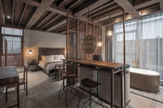 guest room_chun. Image © SCHRAN Architectural Photography, Xuanmin Jin