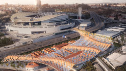 Kengo Kuma and OODA Win Competition to Redevelop Porto Slaughterhouse