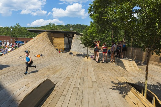 Masonic Amphitheatre, Design/Build Lab at Virginia Tech. Image © Jeff Goldberg - ESTO