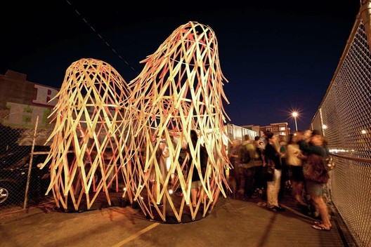 TRILUX Pavilion, Future Cities Lab. Image © Peter Prato