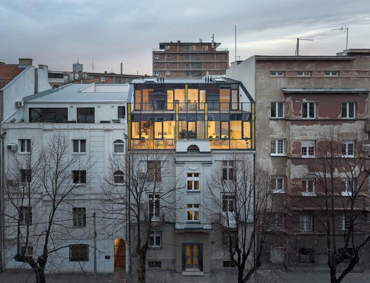 GV51 Penthouse Apartments / Ela Nesic + Danilo Nedeljkovic, © Relja Ivanic