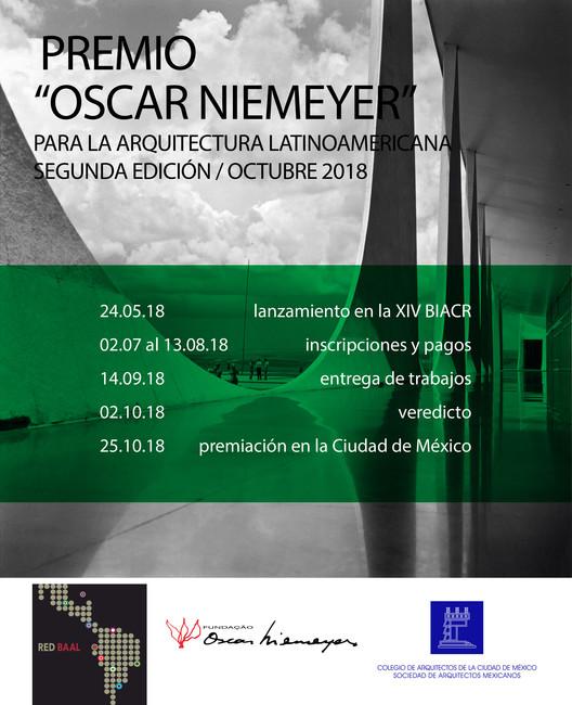 Chamada aberta para o II Prêmio Oscar Niemeyer de Arquitetura Latino-Americana, Foto de fundo: Gonzalo Viramonte
